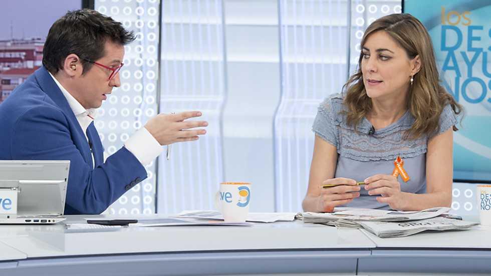 Los desayunos de TVE - Lorena Ruíz-Huerta, portavoz de Podemos en la Asamblea de Madrid