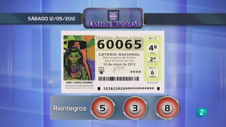 Lotería diaria - 12/05/12