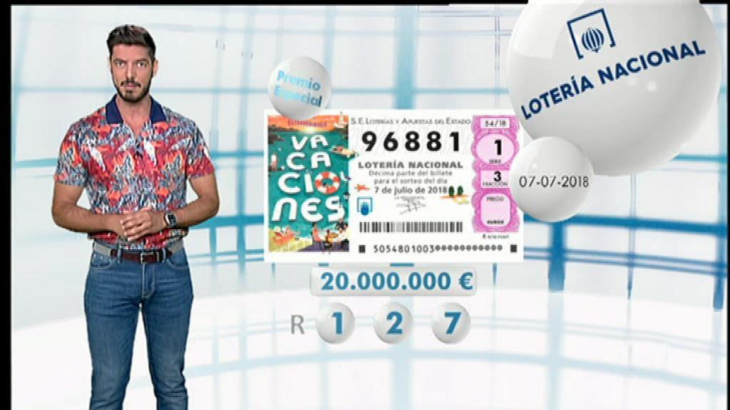 Lotería Nacional - 07/07/18