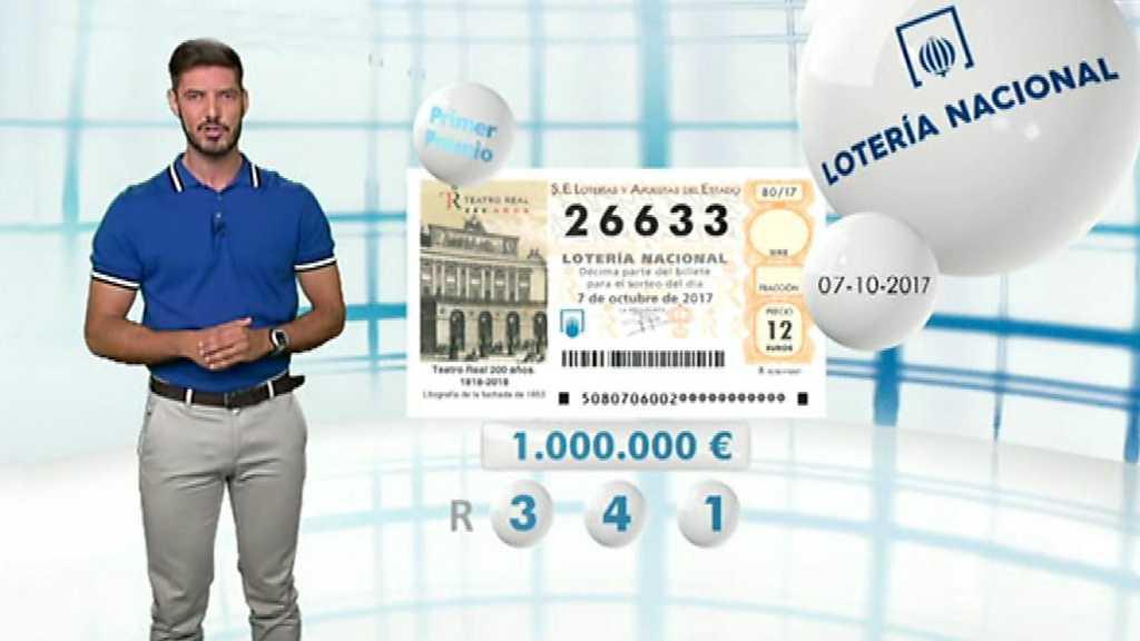 Lotería Nacional - 07/10/17