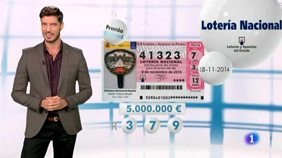 Lotería Nacional - 08/11/14