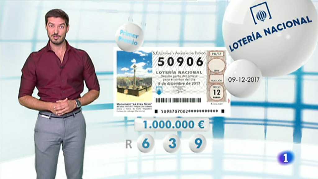 Lotería Nacional - 09/12/17