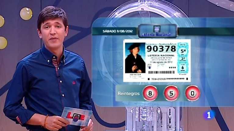 Lotería Nacional - 11/08/12