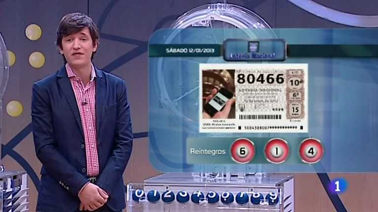 Lotería Nacional - 12/01/13