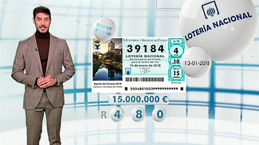 Lotería Nacional - 13/01/18