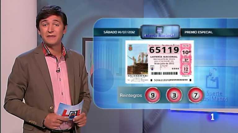 Lotería Nacional - 14/07/12