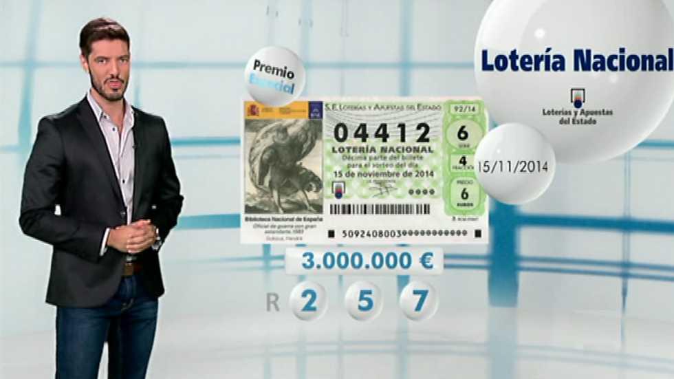 Lotería Nacional - 15/11/14