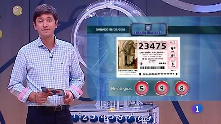 Lotería Nacional - 18/08/12