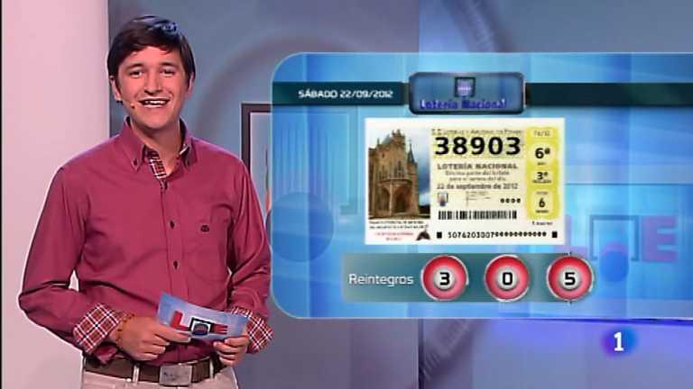 Lotería Nacional - 22/09/12