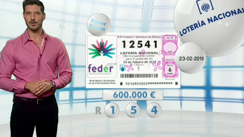 Lotería Nacional - 23/02/19