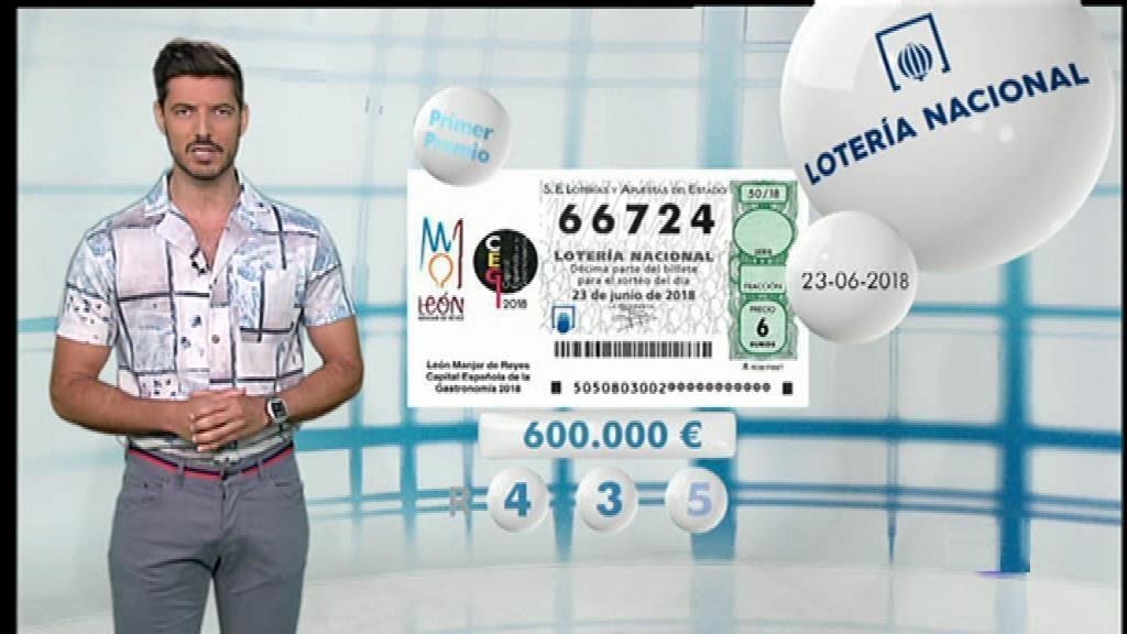 Lotería Nacional - 23/06/18