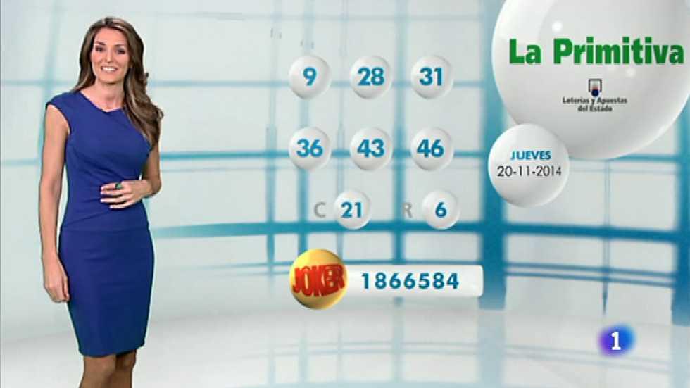 Lotería Nacional + La Primitiva - 20/11/14