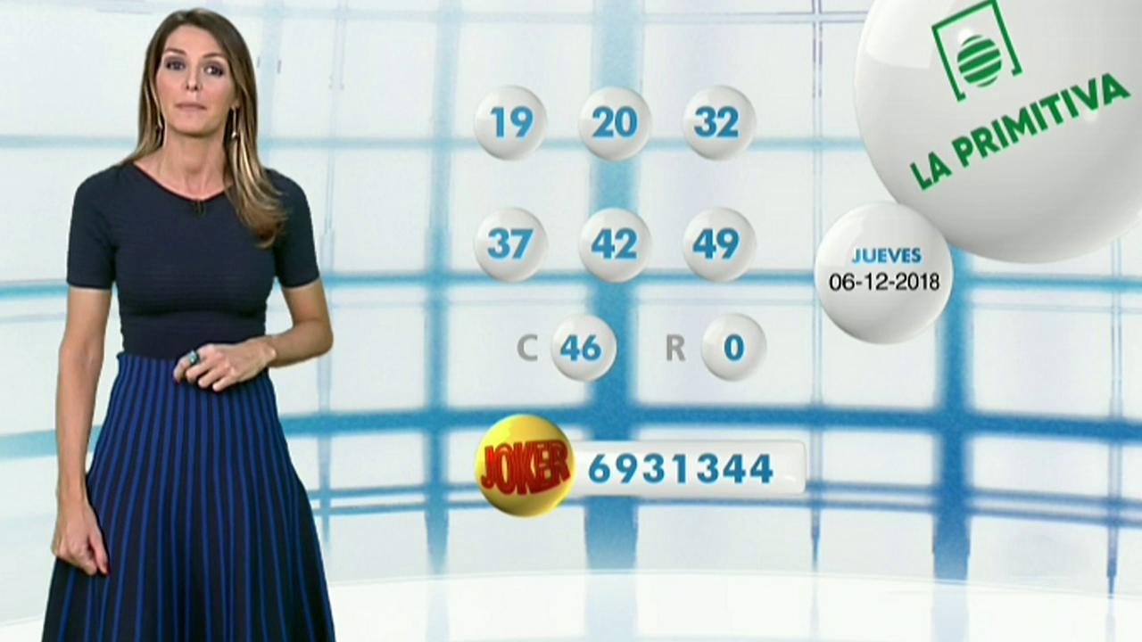 Lotería Nacional + La Primitiva + Bonoloto - 06/12/18