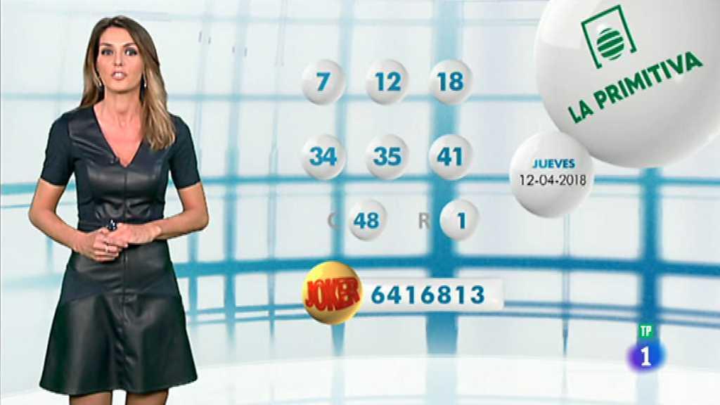 Lotería Nacional + La Primitiva + Bonoloto - 12/04/18