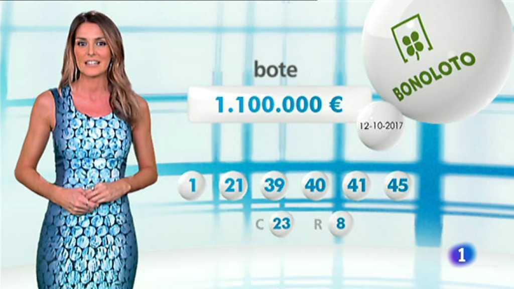 Lotería Nacional + La Primitiva + Bonoloto - 12/10/17