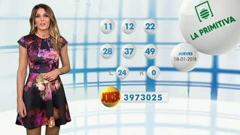 Lotería Nacional + La Primitiva + Bonoloto - 18/01/18