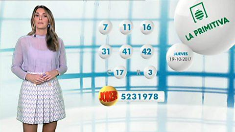 Lotería Nacional + La Primitiva + Bonoloto - 19/10/17