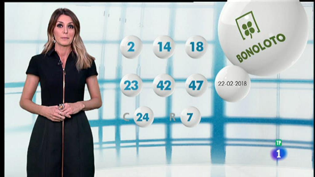 Lotería Nacional + La Primitiva + Bonoloto - 22/02/18