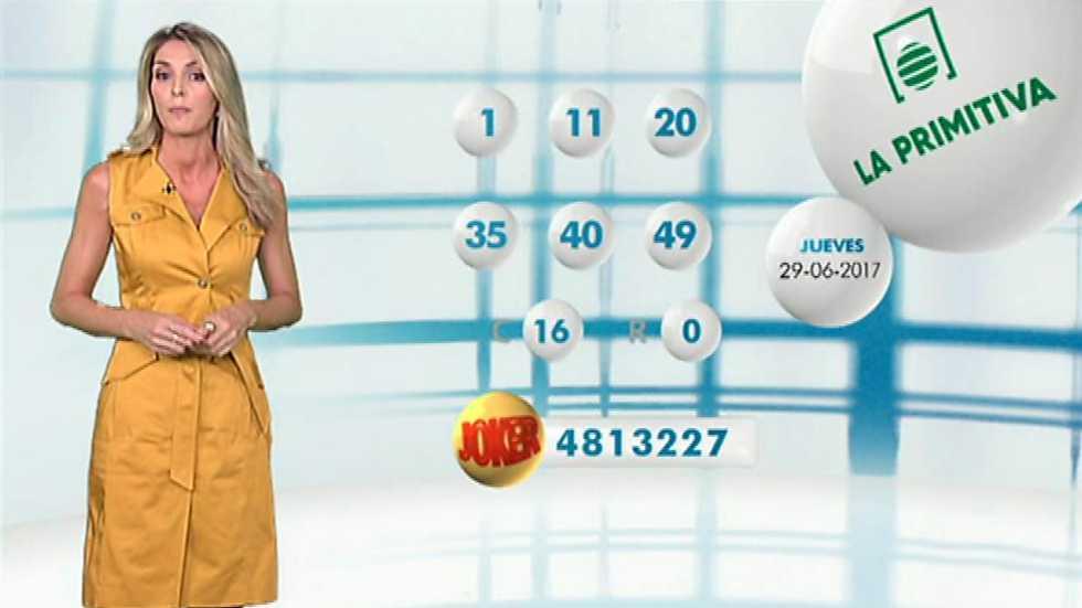 Lotería Nacional + La Primitiva + Bonoloto - 29/06/17