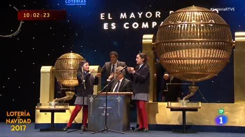 Lotería de Navidad 2017: 18065, cuarto quinto premio