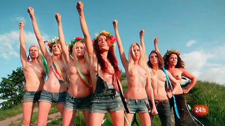 Cámara abierta 2.0 - Las activistas de Femen.org, Sandra Ibarra y Love of Lesbian - 23/06/12
