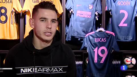 Lucas Hernández, dispuesto a jugar con la selección española