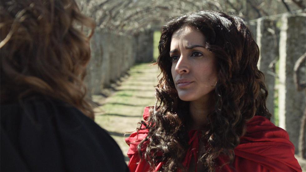 Águila Roja - Lucrecia descubre que Margarita está embarazada de Gonzalo