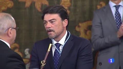 Luis Barcala (PP), nuevo alcalde de Alicante, tras fracasar por un voto la investidura de la socialista Eva Montesinos