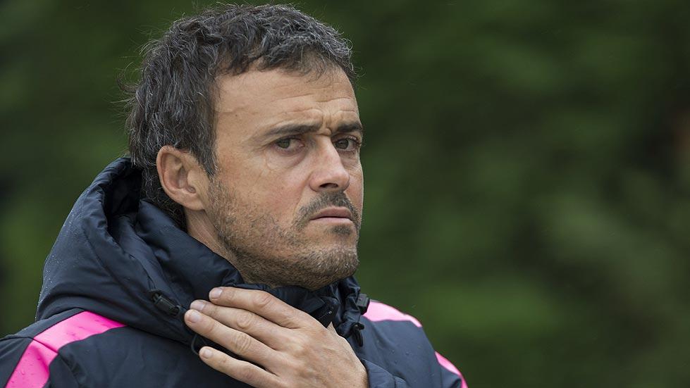 Luis Enrique confía en vencer al Valencia