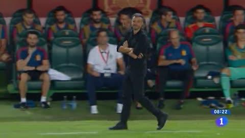 Luis Enrique, ovacionado en Elche