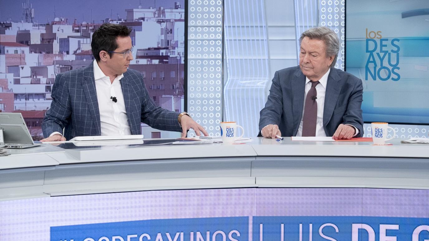 Los desayunos de TVE - Luis de Grandes, Pte. Comisión organizadora del Congreso del PP