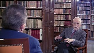UNED - El novelista Luis Mateo Díez dialoga con José Romera Castillo - 21/09/18