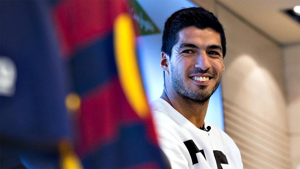"""Luis Suárez: """"Tenemos un lindo desafío para quedar en la historia del club"""""""
