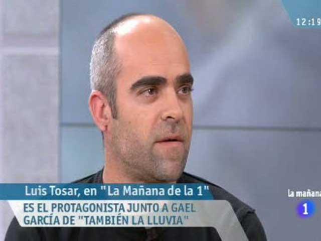 La mañana de la 1 - Entrevista a Luís Tosar