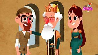 Lunnis de leyenda - El príncipe Ahmed y la princesa Aldegunda