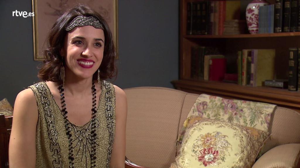 La otra mirada - Macarena García interpreta a Manuela en 'La otra mirada'