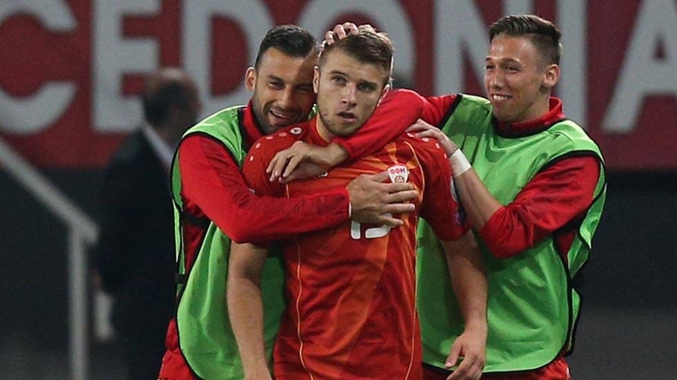 Macedonia 1-2 España. Ristovski fusila a la contra