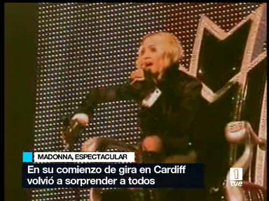 Con sus cincuenta años recién cumplidos, Madonna ha vuelto a los escenarios