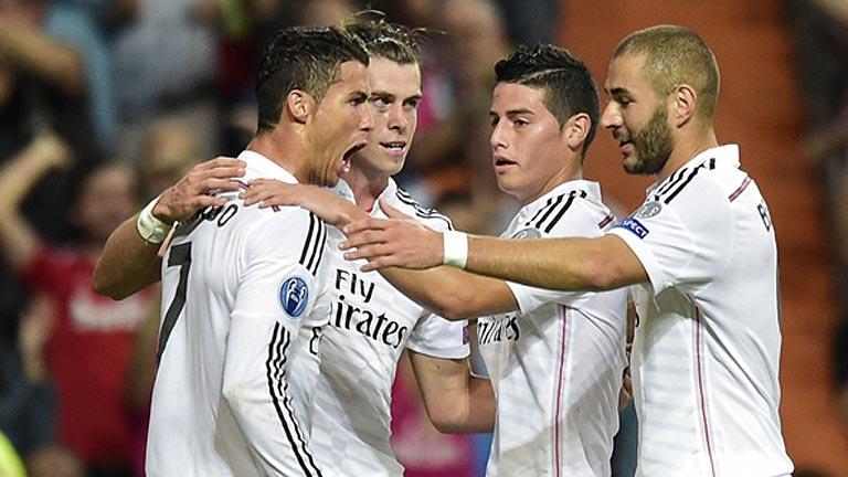 Un Madrid de altos vuelos quiere ganar al Liverpool para sellar los octavos