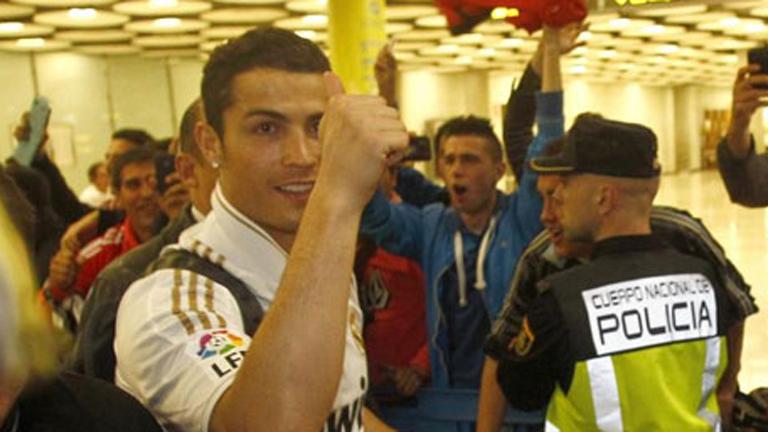 El Madrid aterriza en Barajas
