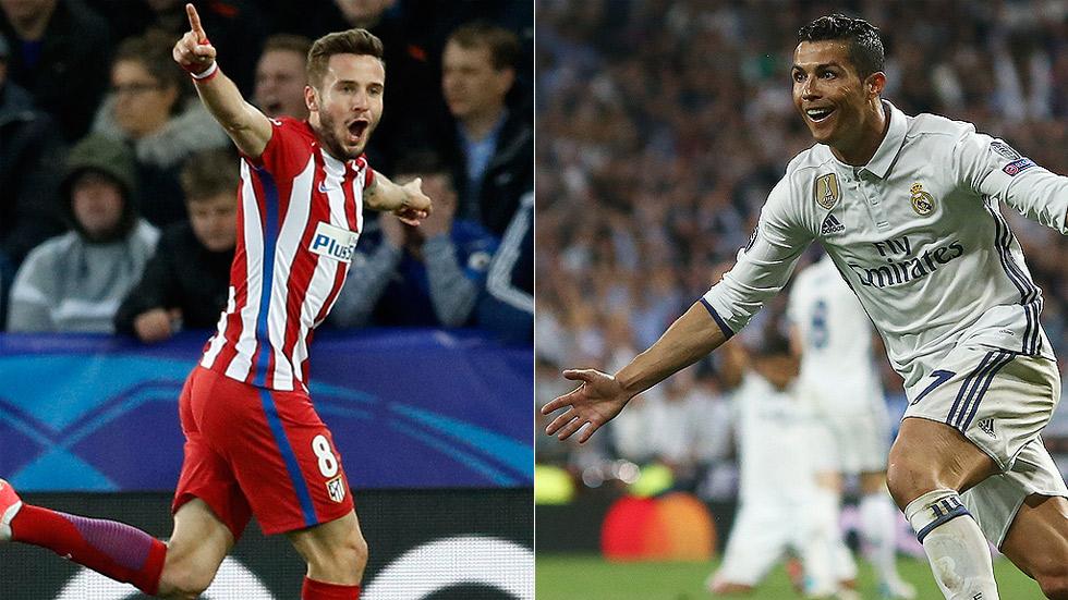 Madrid y Atlético, en semifinales de la Champions
