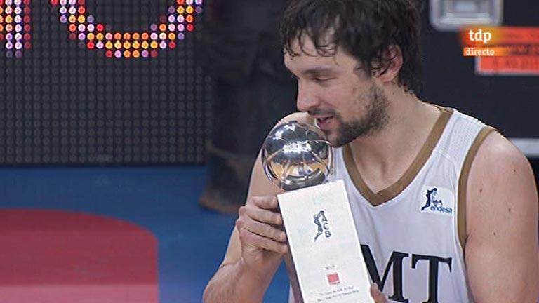El Madrid, campeón de la Copa del Rey de baloncesto