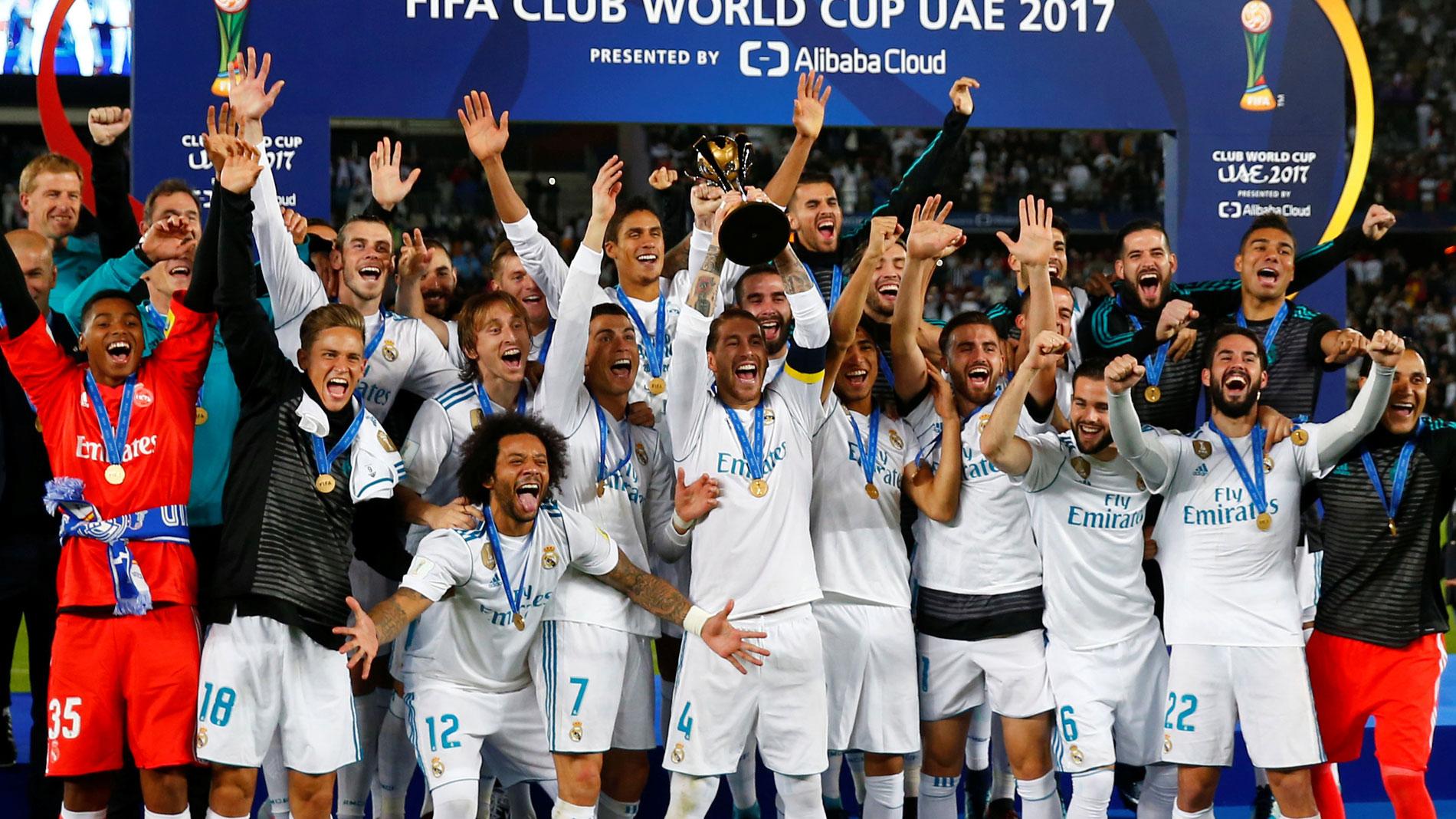 Mundialito 2017 el madrid campe n del mundo 2017 - Tarimas del mundo madrid ...