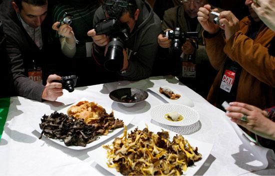 En Madrid Fusión se pueden ver recetas muy originales