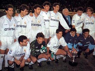 Las tres primeras Supercopas del Madrid frente al Barça