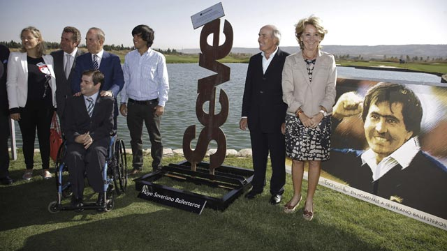 Madrid homenajea a Seve Ballesteros