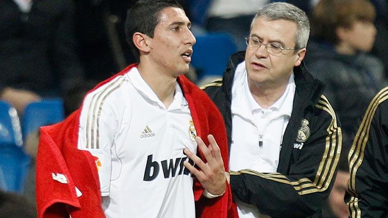 El Madrid llega a Moscú sin Di María