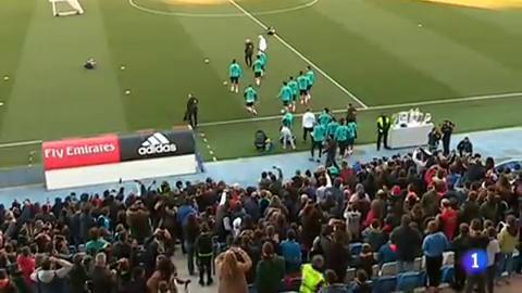 El Madrid se da un baño de multitudes