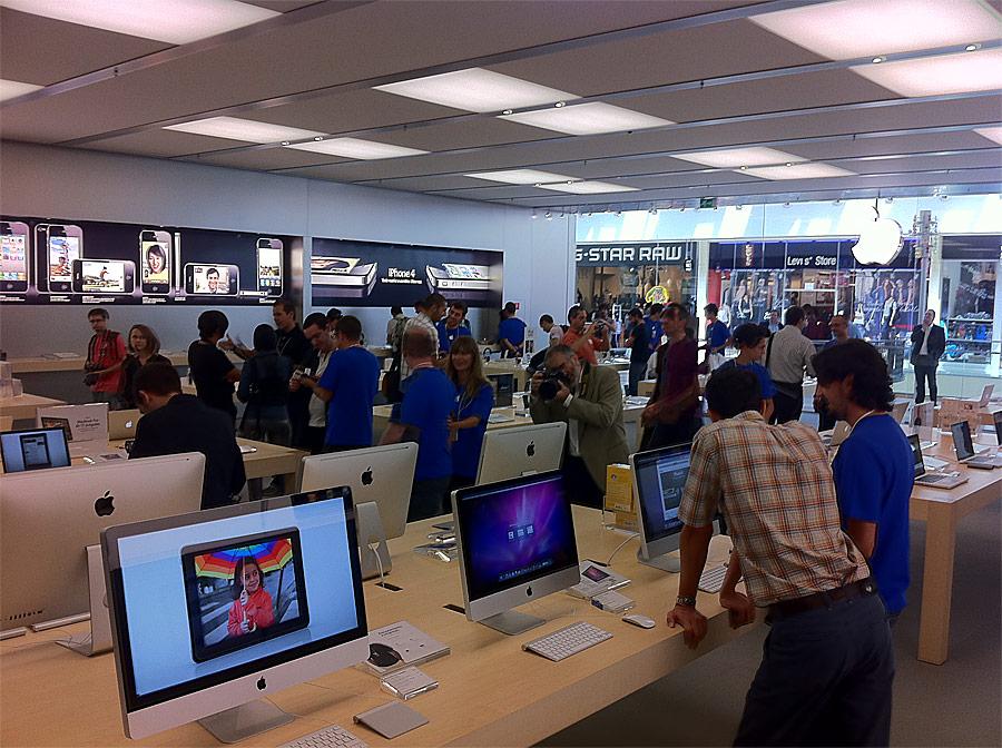 Madrid ya tiene Apple Store
