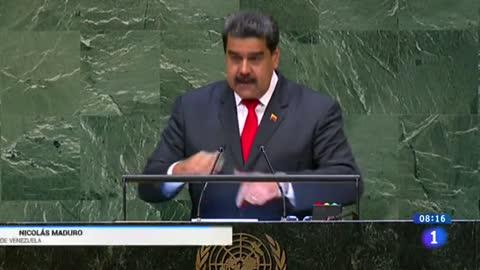 Maduro denuncia en la ONU la agresión de EE.UU., pero ofrece diálogo a Trump